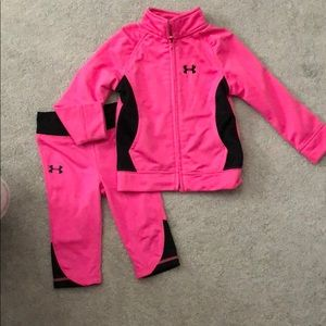 Under Armor Pink Outfit